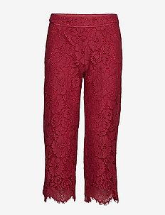 Trousers - casual broeken - scarlet red