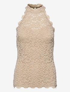 Top - blouses sans manches - misty sand