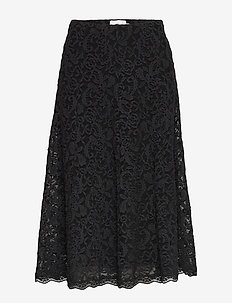 Skirt - midi skirts - black