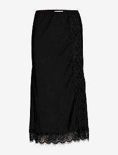 Skirt - midi - black
