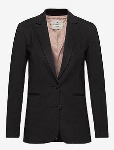 Jacket ls - blazer - black