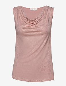 Top - blouses sans manches - powder rose shimmering dots