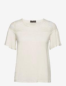 T-shirt ss - t-shirts - ivory