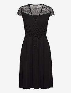 Dress ss - robes de jour - black
