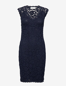 Dress ss - blondekjoler - navy
