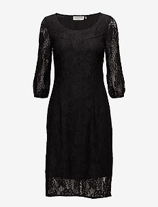 Dress 3/4 s - blondekjoler - black