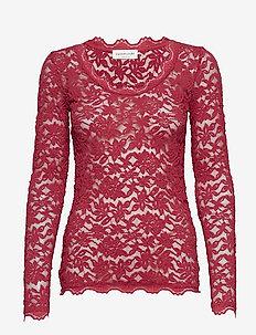 T-shirt ls - RASPBERRY RED