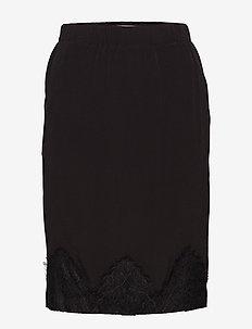 Skirt - spódnice mini - black