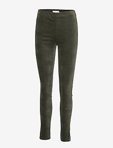 Trousers - BLACK GREEN