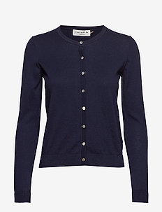 Cardigan ls - NAVY