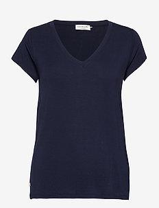 T-shirt ss - t-shirts - navy