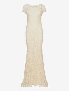 Dress ss - etuikleider - ivory