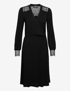 Dress ls - hverdagskjoler - black