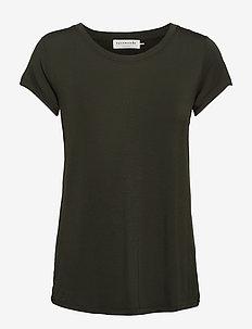 T-shirt ss - t-shirts - black green