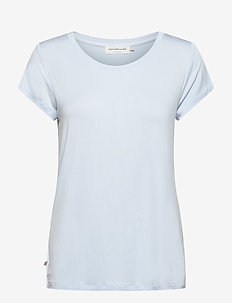 T-shirt ss - t-shirts - heather sky