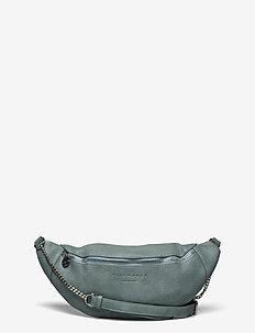 Bag small - sacs banane - aqua silver