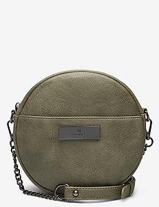 Bag small - skuldervesker - leaf green black oxid