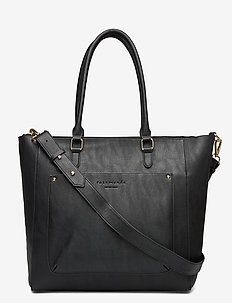 Bag - fashion shoppers - black gold