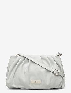 Bag small - sacs à bandoulière - baby blue silver