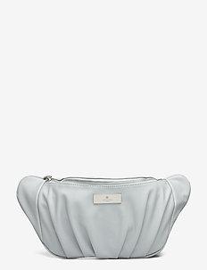 Bag medium - saszetka nerka - baby blue silver