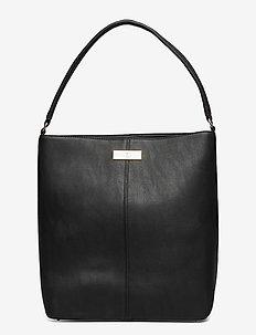 Bag - bucket bags - black gold