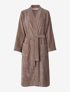 robe - pegnoirs - dusty brown