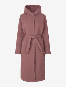 Winter robe - morgenkåper - rose taupe