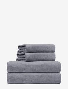 towel 45x65cm - hand towels & bath towels - charcoal grey