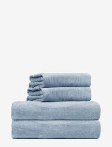 towel 45x65cm - hand towels & bath towels - dusty blue