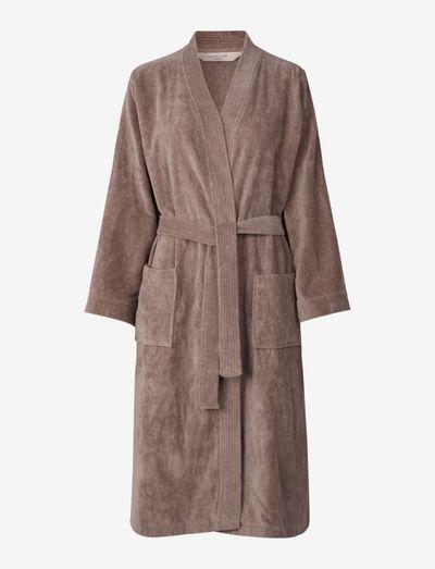 robe - undertøy - dusty brown
