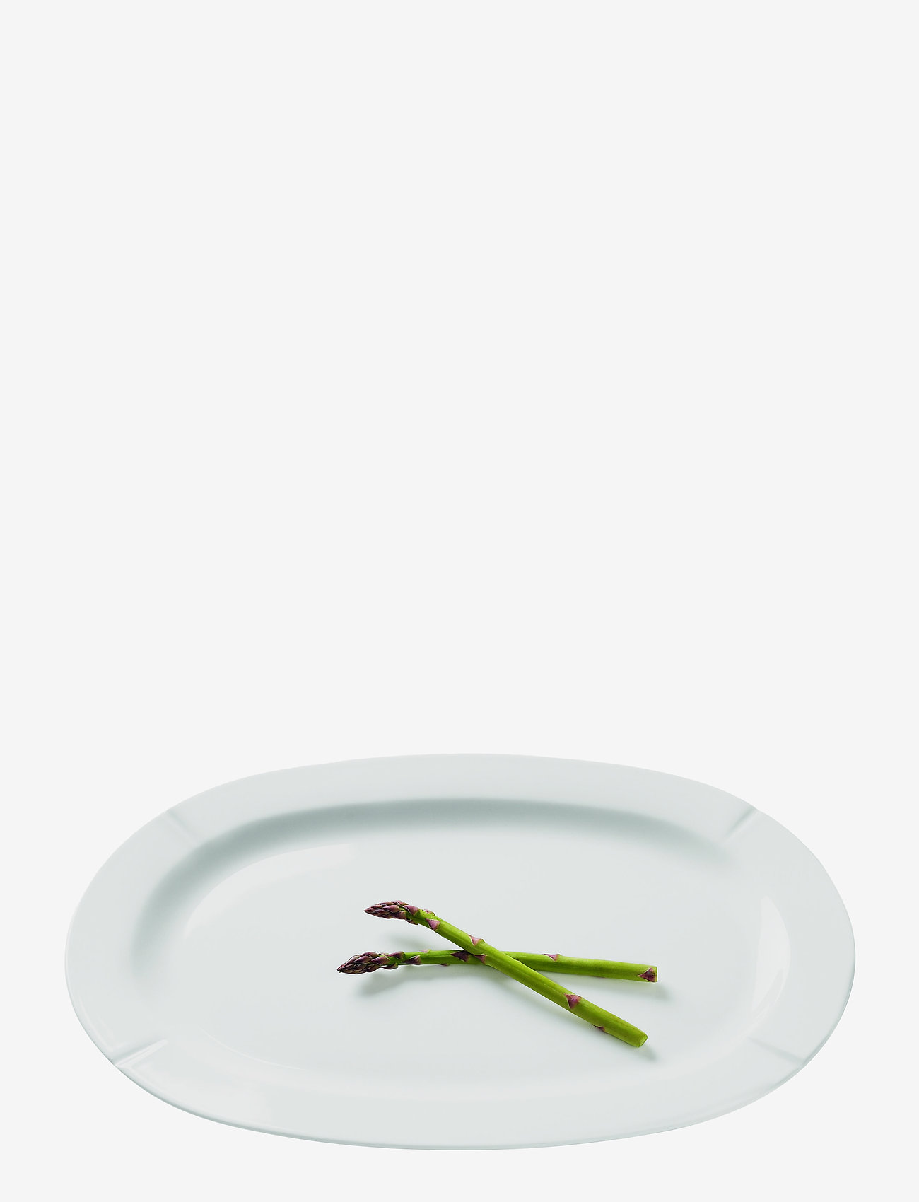 Rosendahl - Grand Cru Oval serving dish 44x30 - tarjoiluastiat ja -lautaset - white - 0
