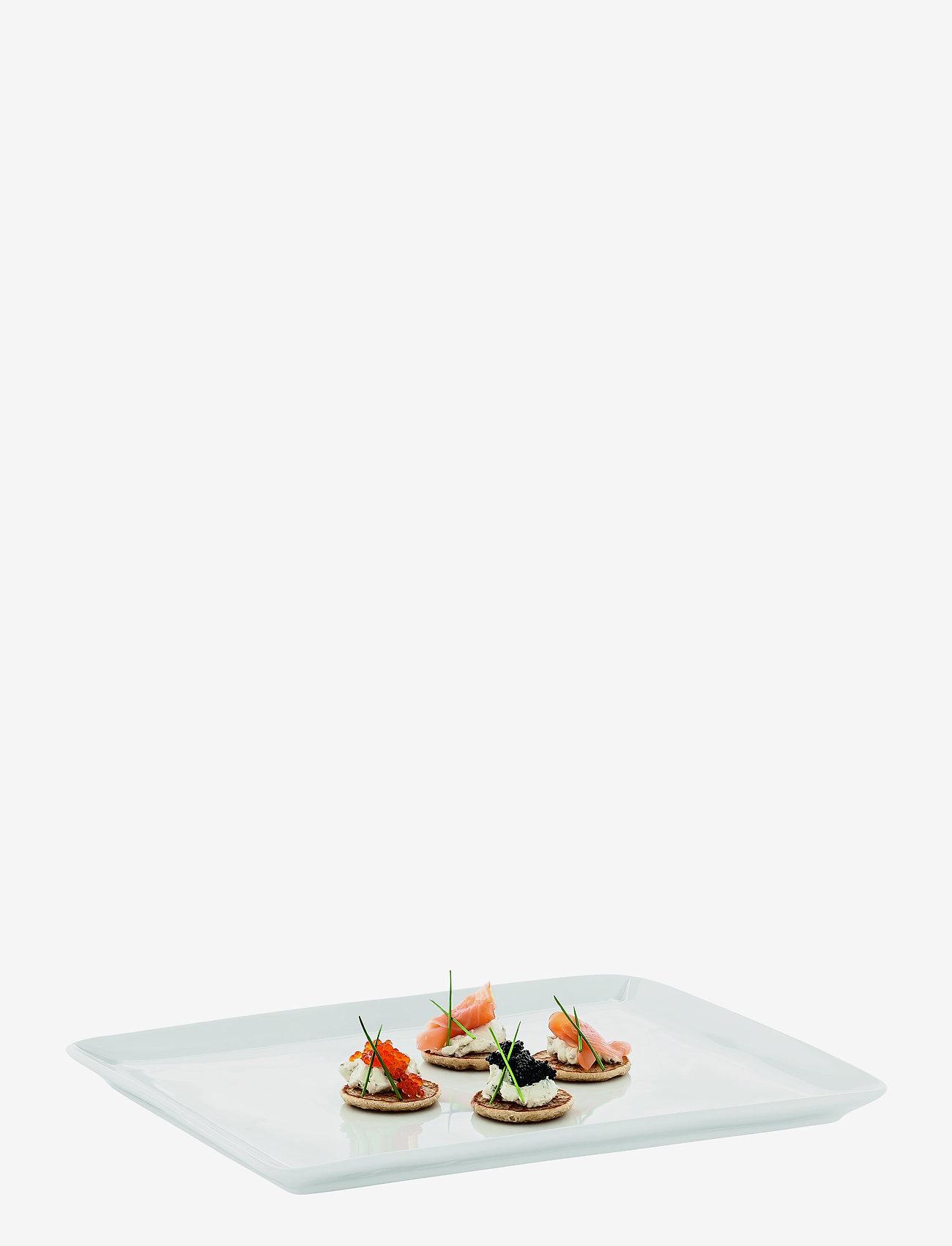 Rosendahl - Grand Cru Serving dish 35x28,5 - tarjoiluastiat ja -lautaset - white - 1