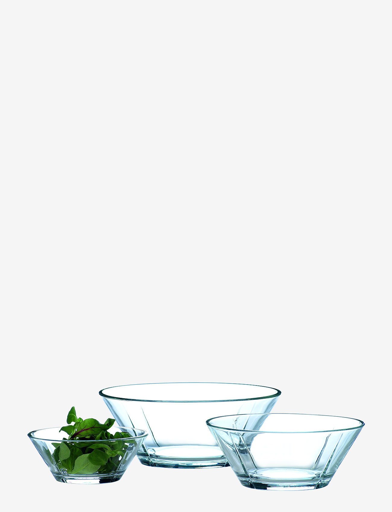 Rosendahl - Grand Cru Glass bowl set, 3 pcs. - kulhot - clear - 0