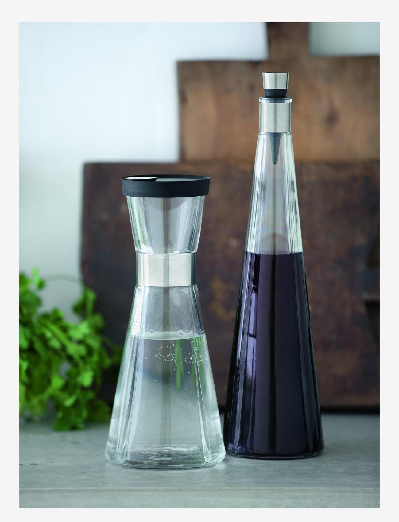 Rosendahl - Lid for water carafe Ø8,5cm - vesikannut ja -karahvit - black/steel - 1
