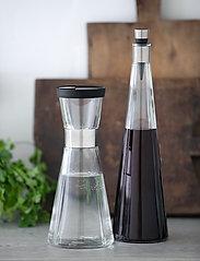 Rosendahl - Lid for water carafe Ø8,5cm - vesikannut ja -karahvit - black/steel - 2