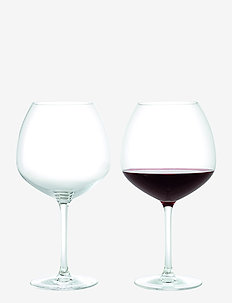 Premium Red Wine Glass 93 cl clear 2 pcs. - vinglass - clear