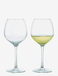 Premium White Wine Glass 54 cl clear 2 pcs. - viinilasit - clear