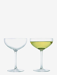 Premium Champagne Glass 39 cl clear 2 pcs. - glass - clear