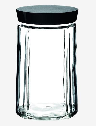 Grand Cru Oppbevaringsglass 1,0 l - glasskrukker - black