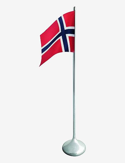 RO Bordflagg norsk H35 - pyntegjenstander - silver coloured