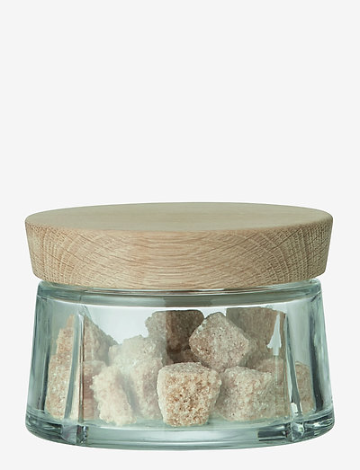 Grand Cru Oppbevaringsglass 25 cl eik - glasskrukker - oak