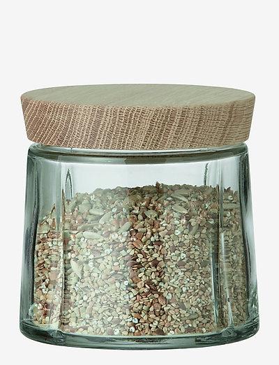 Grand Cru Oppbevaringsglass 50 cl eik - glasskrukker - oak