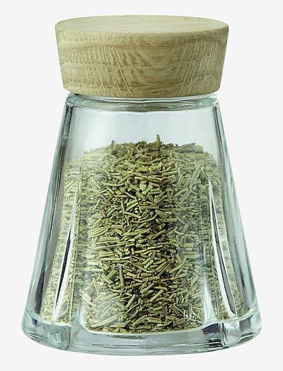 Grand Cru Oppbevaringsglass 12 cl eik - glasskrukker - oak