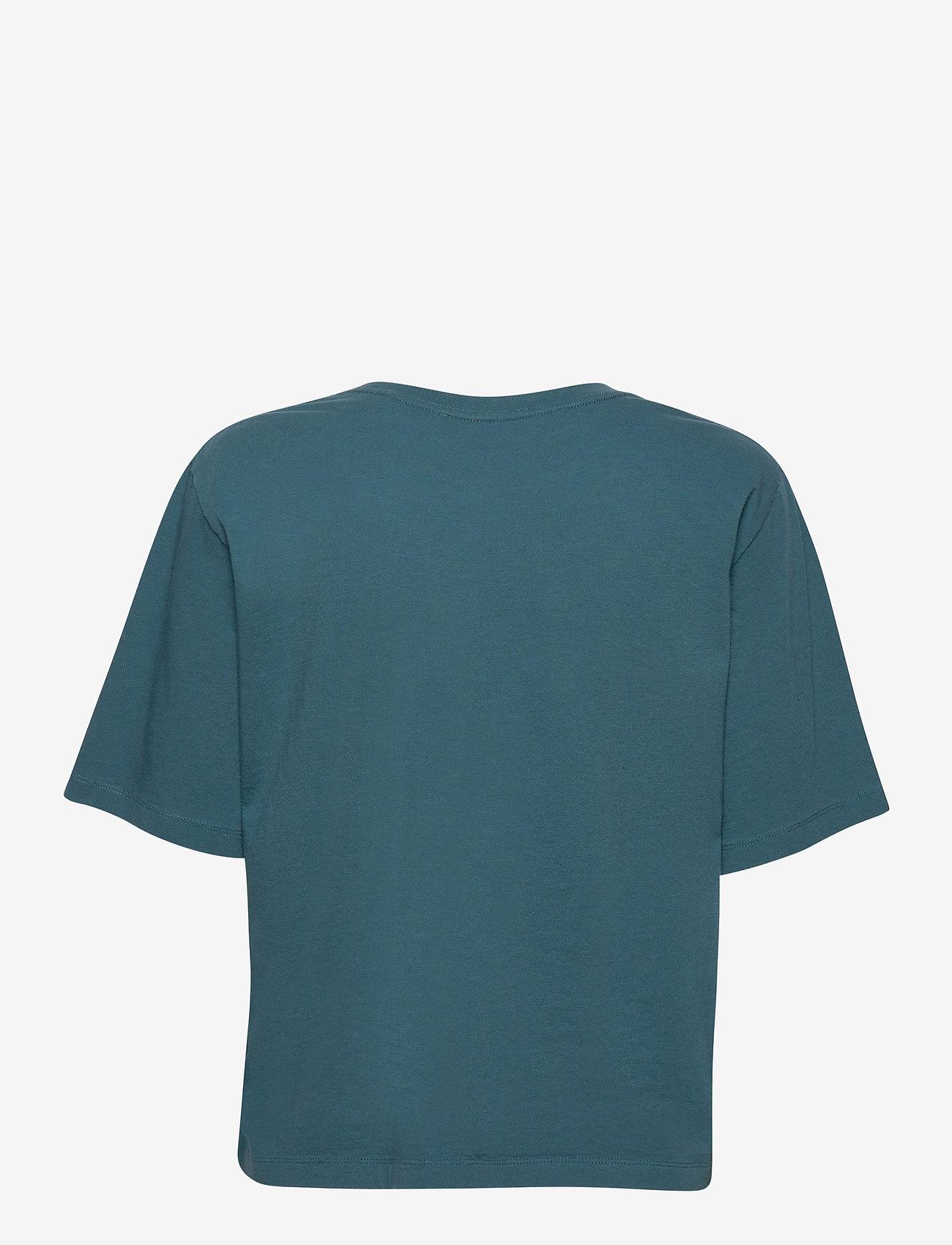ROTATE Birger Christensen - Aster T-shirt - t-shirts - mallard blue - 2