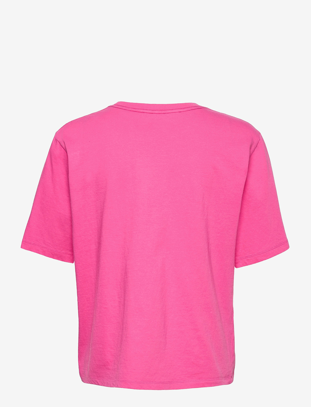 ROTATE Birger Christensen - Aster T-shirt - t-shirts - carmine rose - 1