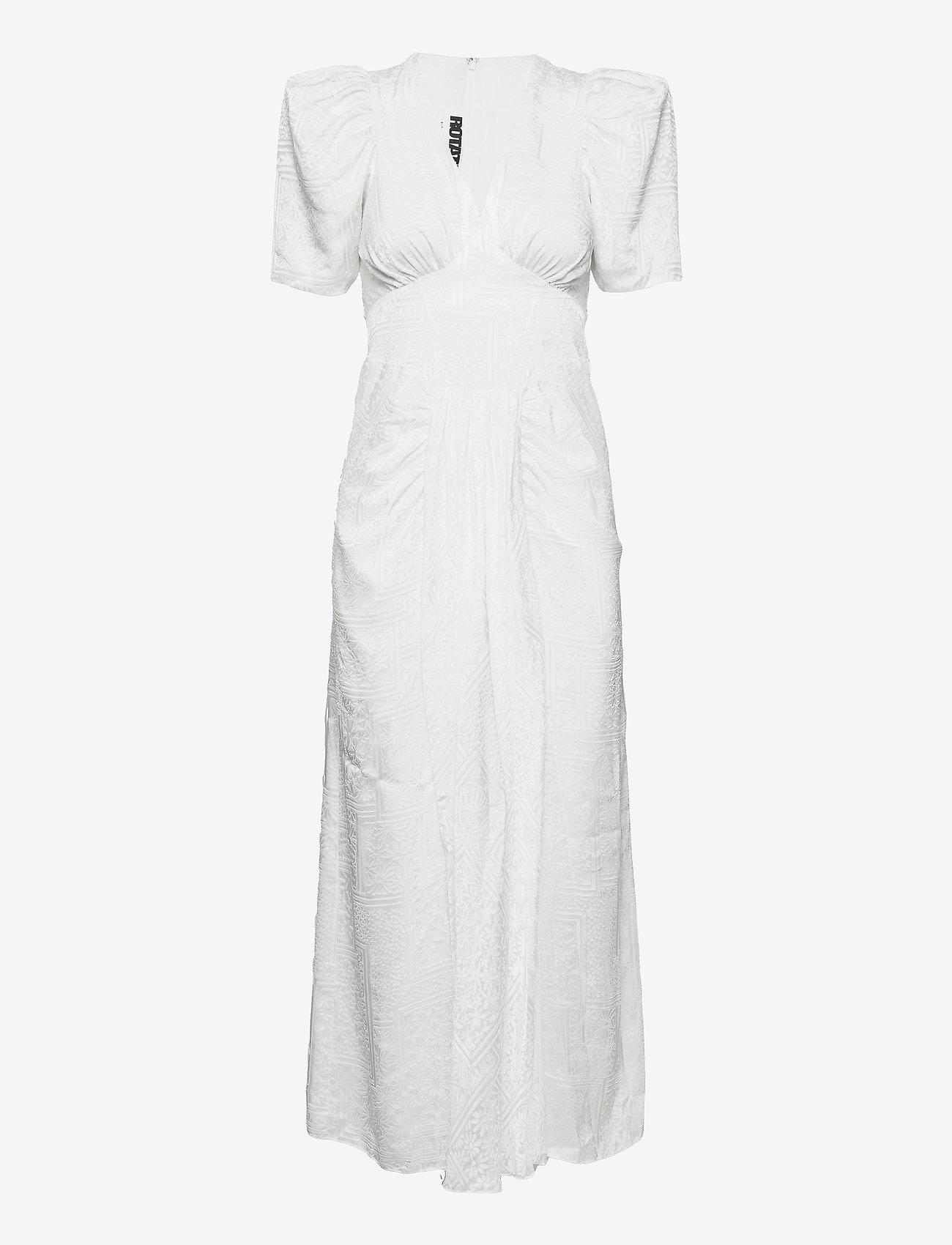 ROTATE Birger Christensen - Alma Dress - bright white - 0