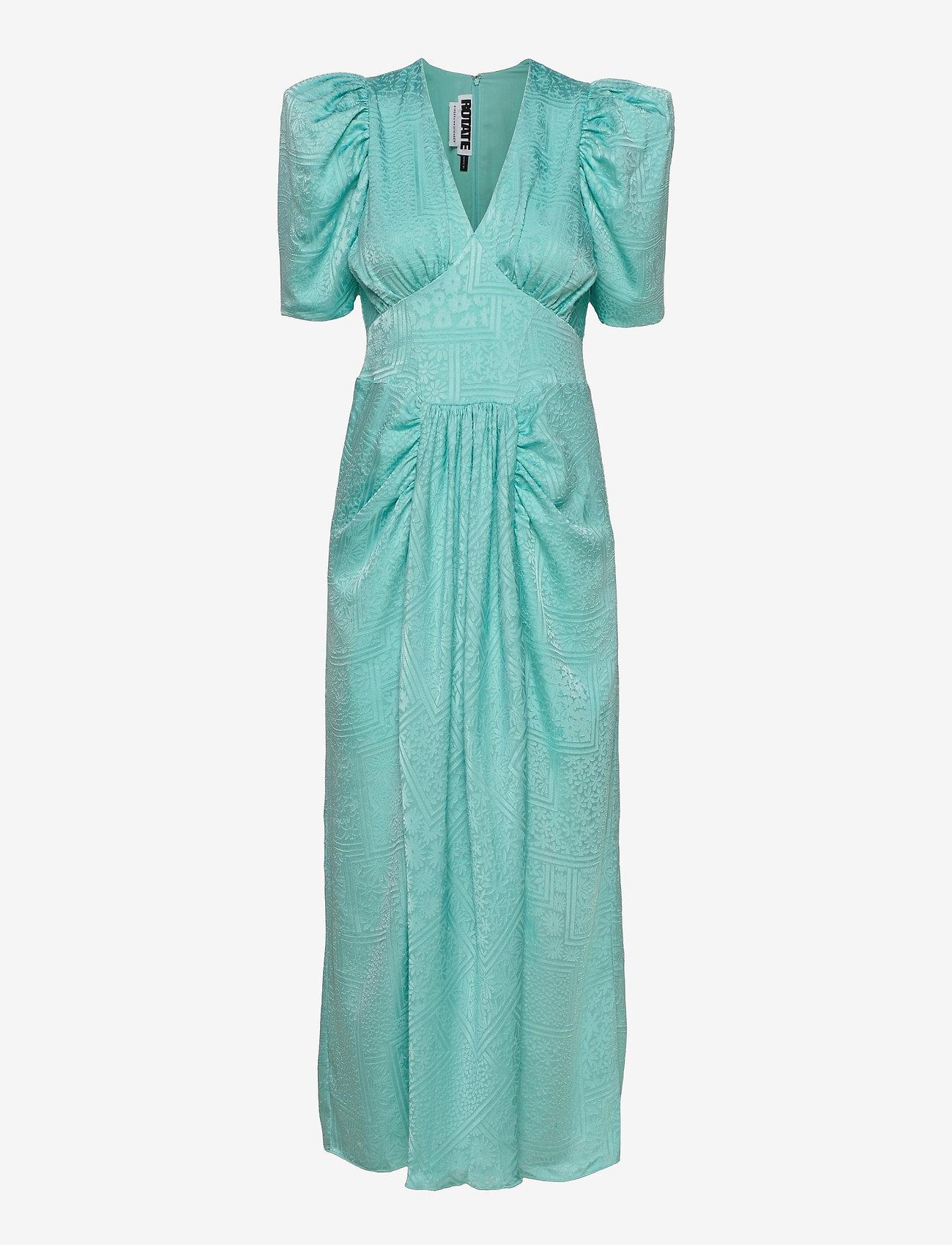 ROTATE Birger Christensen - Alma Dress - evening dresses - antigua sand - 0
