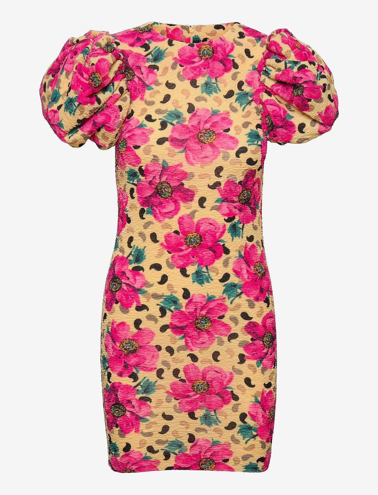 ROTATE Birger Christensen - Ruby Dress - bodycon jurken - flower aop - 0