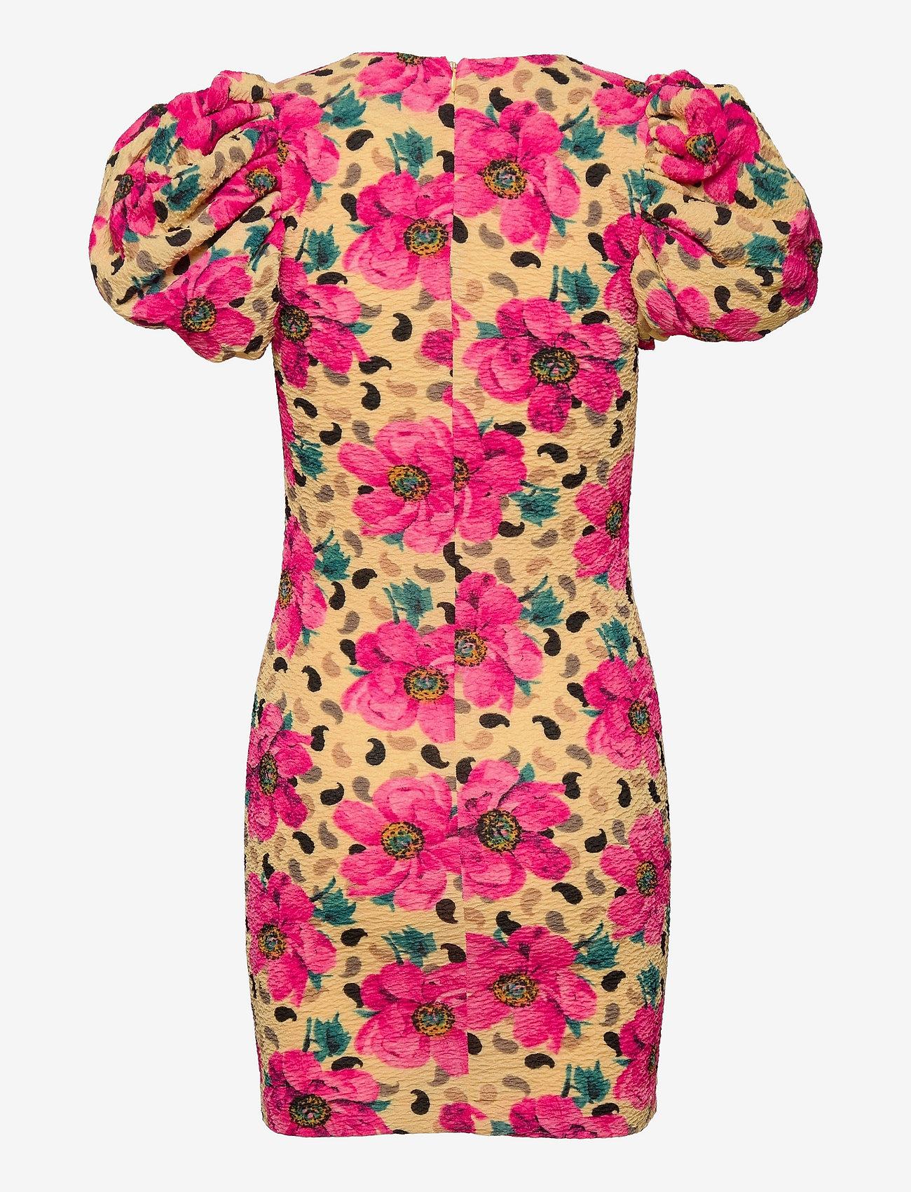 ROTATE Birger Christensen - Ruby Dress - bodycon jurken - flower aop - 1