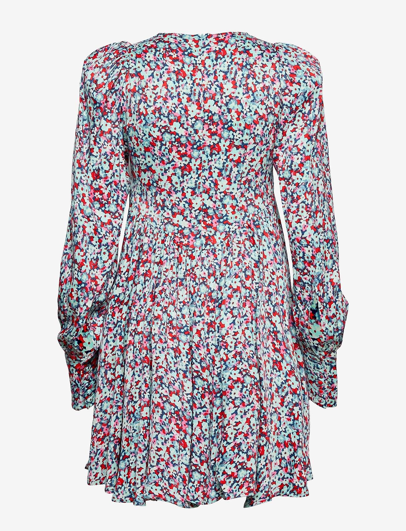 ROTATE Birger Christensen - Alison Dress - alledaagse jurken - antigua sand comb - 1